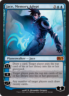 Magic 2012 Jace Memory Adept