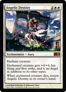 Magic the Gathering Angelic Destiny (Magic 2012)