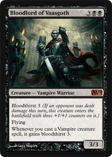 Magic the Gathering Bloodlord of Vaasgoth